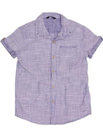 Camisa de manga corta niño GEORGE violeta 11 años verano #1382543_1