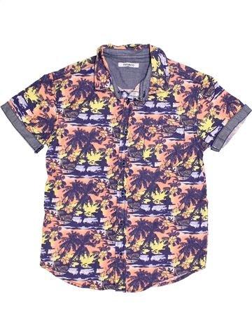 Camisa de manga corta niño PEP&CO violeta 9 años verano #1382649_1