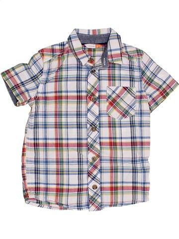 Chemise manches courtes garçon JOHN LEWIS gris 4 ans été #1382845_1