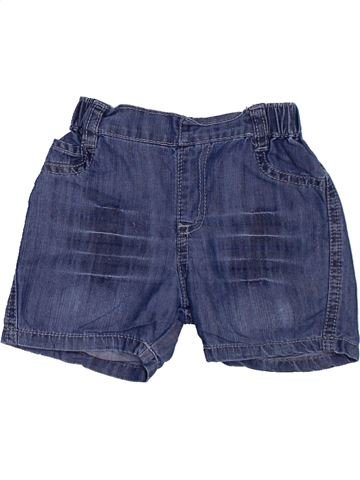 Short-Bermudas niño BERLINGOT azul 9 meses verano #1383301_1