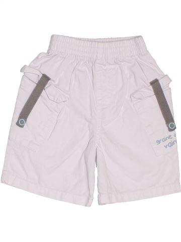Short-Bermudas niño TOUT COMPTE FAIT blanco 12 meses verano #1383303_1