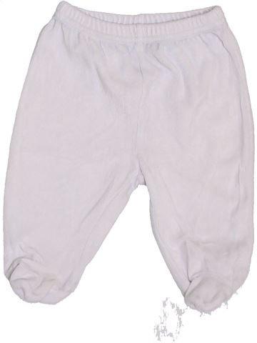Pantalon garçon PREMAMAN blanc 6 mois hiver #1383326_1