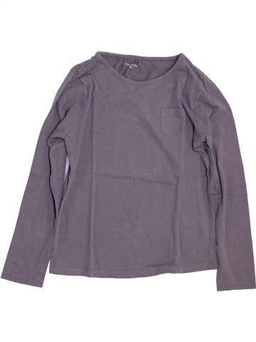 Camiseta de manga larga niña MONOPRIX violeta 10 años invierno #1384481_1