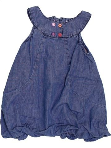 Robe fille OKAIDI bleu 6 mois hiver #1384597_1