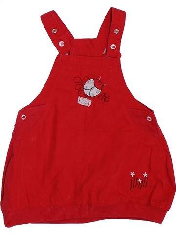 Vestido niña SUCRE D'ORGE rojo 9 meses invierno #1384600_1