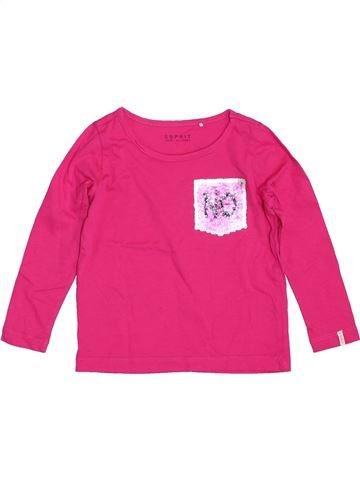T-shirt manches longues fille ESPRIT rose 3 ans hiver #1384815_1