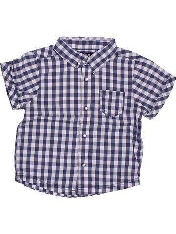 Camisa de manga corta niño KIABI gris 12 meses verano #1385086_1