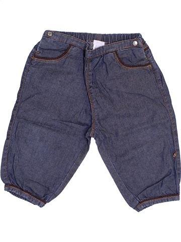 Pantalón niña JACADI azul 12 meses verano #1385096_1