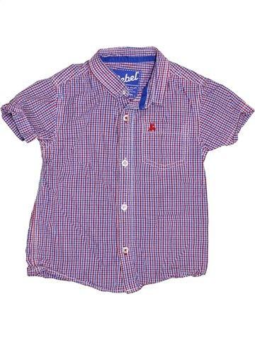 Chemise manches courtes garçon PRIMARK violet 4 ans été #1385246_1