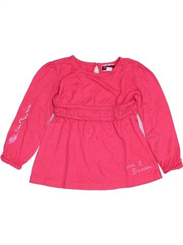 T-shirt manches longues fille CHICCO rose 2 ans hiver #1386102_1