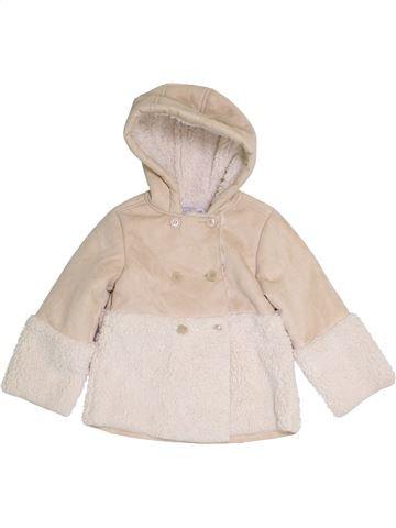 Manteau fille KIMBALOO bleu 3 ans hiver #1386459_1