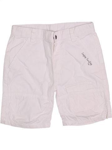 Short-Bermudas niño 3 POMMES blanco 18 meses verano #1386701_1