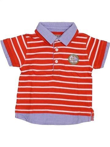 Polo de manga corta niño GENERATION Z rojo 6 meses verano #1386767_1