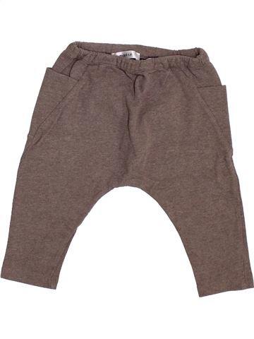Pantalon garçon MARÈSE marron 12 mois hiver #1386948_1