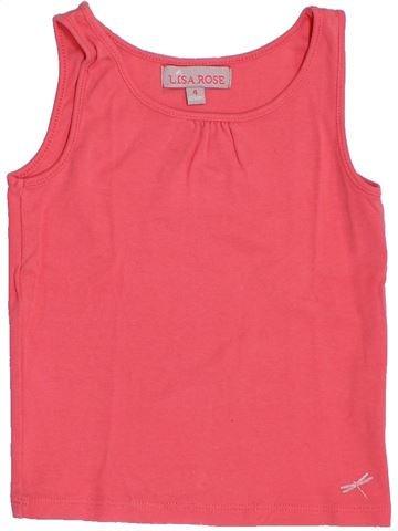 Camiseta sin mangas niña LISA ROSE rosa 4 años verano #1387291_1