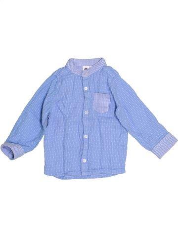 Chemise manches longues garçon GENERATION Z bleu 12 mois hiver #1387753_1