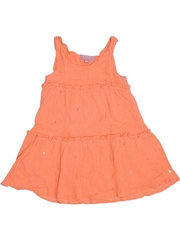 Vestido niña LISA ROSE naranja 3 años verano #1388207_1