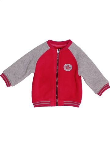 Gilet fille DPAM rouge 6 mois hiver #1388356_1