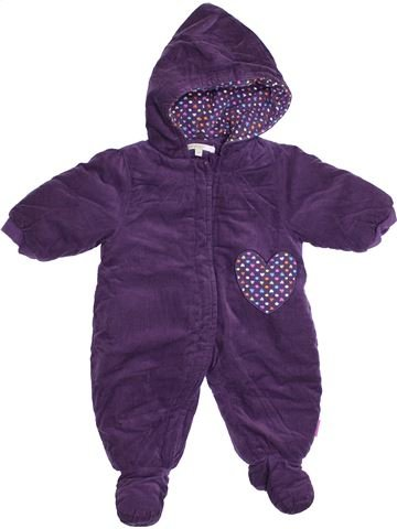 Combi-Pilote fille PREMAMAN violet 3 mois hiver #1388681_1