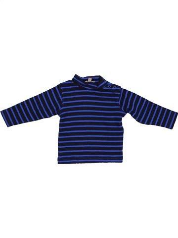 Camiseta de cuello alto niño GENERATION Z azul 6 meses invierno #1389105_1