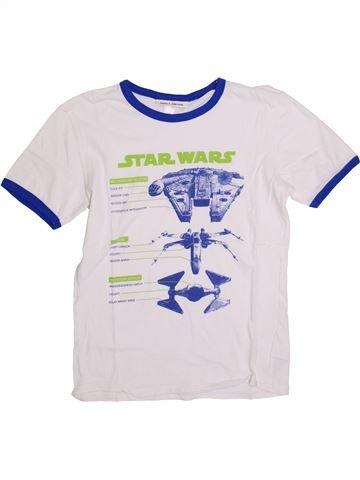Camiseta de manga corta niño GAP blanco 13 años verano #1389462_1