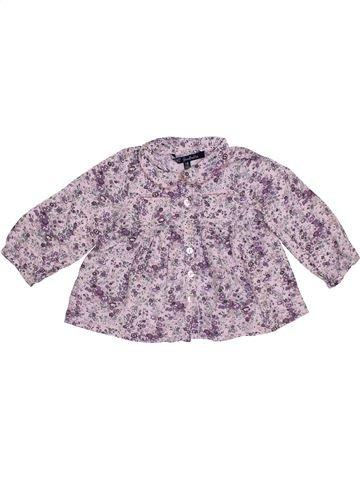 Blusa de manga larga niña LILI GAUFRETTE violeta 18 meses invierno #1389929_1