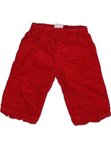 Pantalon garçon TINY TED rouge naissance hiver #1390033_1