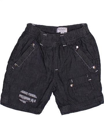 Short-Bermudas niño ALPHABET negro 3 meses verano #1390303_1