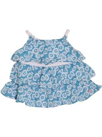 Blouse manches courtes fille KIMBALOO bleu 2 ans été #1390544_1