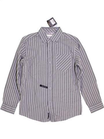 Camisa de manga larga niño MARKS & SPENCER gris 9 años invierno #1390698_1