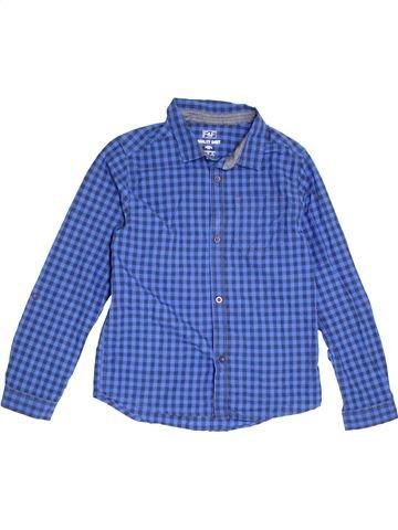 Camisa de manga larga niño F&F azul 13 años invierno #1391320_1