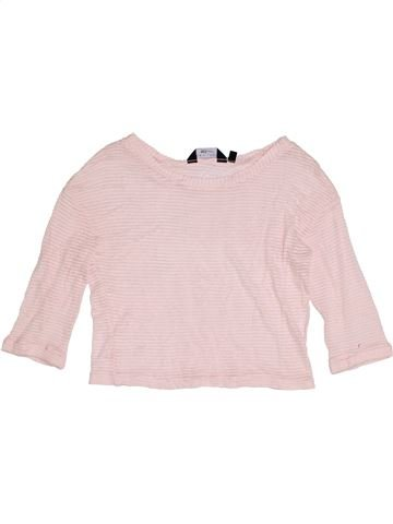 T-shirt manches longues fille NEW LOOK blanc 9 ans hiver #1391452_1