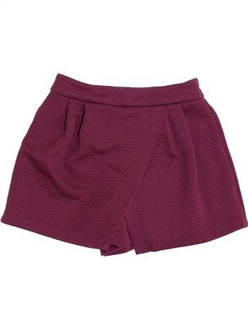 Short-Bermudas niña DUNNES STORES violeta 11 años verano #1391813_1