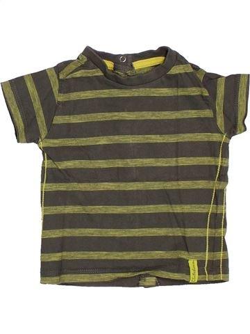 T-shirt manches courtes garçon KIABI vert 6 mois été #1392943_1
