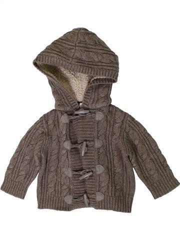 Gilet garçon MONSOON gris 6 mois hiver #1393021_1