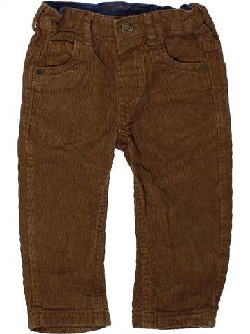 Pantalón niño DUNNES STORES marrón 12 meses invierno #1393031_1