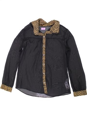 Blusa de manga larga niña F&F negro 11 años invierno #1393040_1