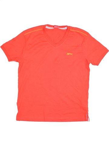 T-shirt manches courtes garçon SLAZENGER rose 12 ans été #1393146_1
