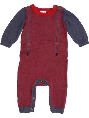 Combinaison longue garçon BOWS&ARROWS marron 6 mois hiver #1393157_1