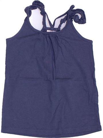 T-shirt sans manches fille TAPE À L'OEIL violet 6 ans été #1393181_1
