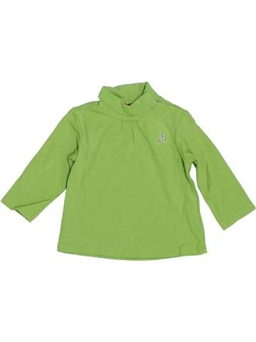 T-shirt col roulé fille MAYORAL vert 3 mois hiver #1393190_1