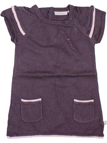 Vestido niña NOUKIE'S violeta 6 meses invierno #1393439_1