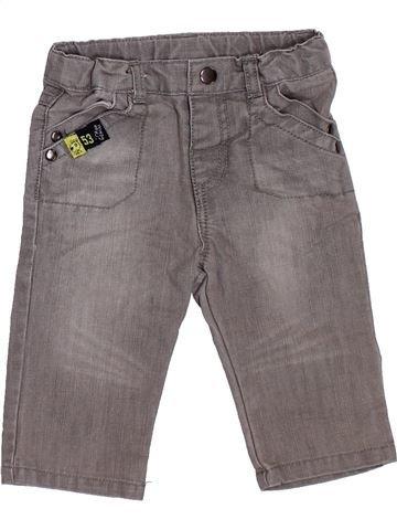 Pantalón niño TISSAIA gris 6 meses invierno #1393651_1