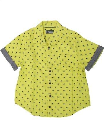 Chemise manches courtes garçon ORCHESTRA jaune 6 ans été #1393844_1