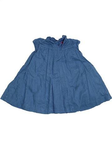 Vestido niña BOUT'CHOU azul 12 meses invierno #1393875_1