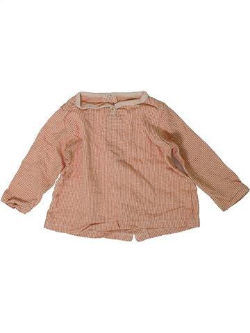 Camiseta de manga larga niño BOUT'CHOU rosa 9 meses invierno #1393892_1