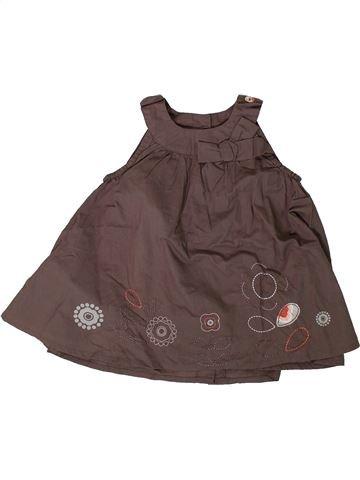 Vestido niña SUCRE D'ORGE marrón 12 meses verano #1394000_1