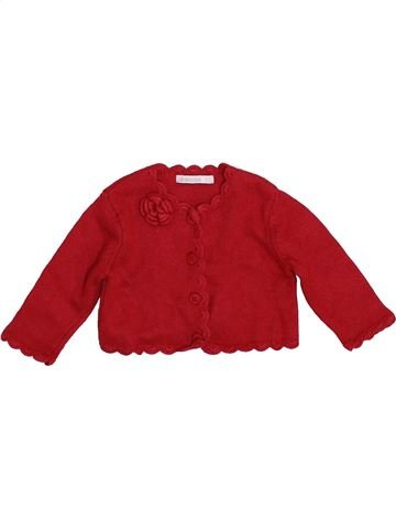 Gilet fille ABSORBA rouge 9 mois hiver #1394024_1