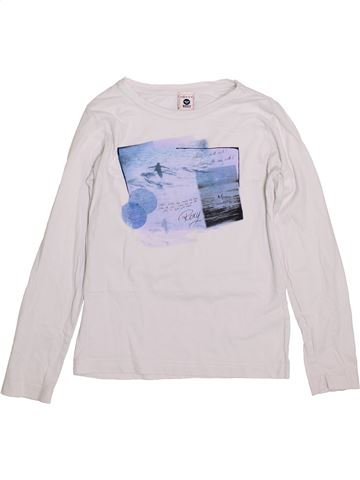 T-shirt manches longues fille ROXY blanc 10 ans hiver #1394401_1