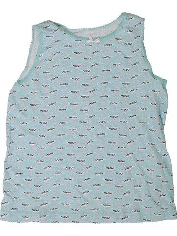 T-shirt sans manches fille PRIMARK bleu 7 ans été #1395040_1